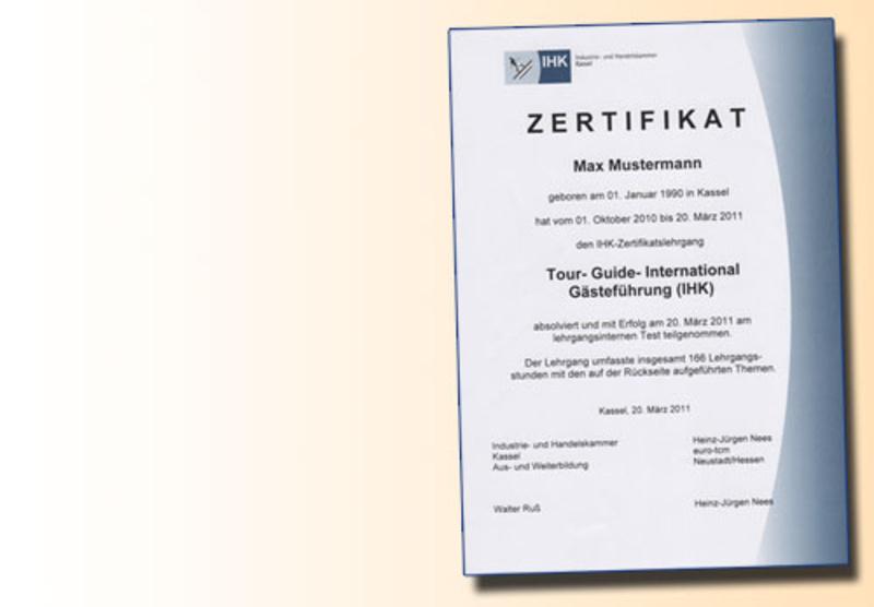 Euro Tga 501 Reiseleiter Mit Ihk Zertifikat Nächster Start 6 Jan 2019